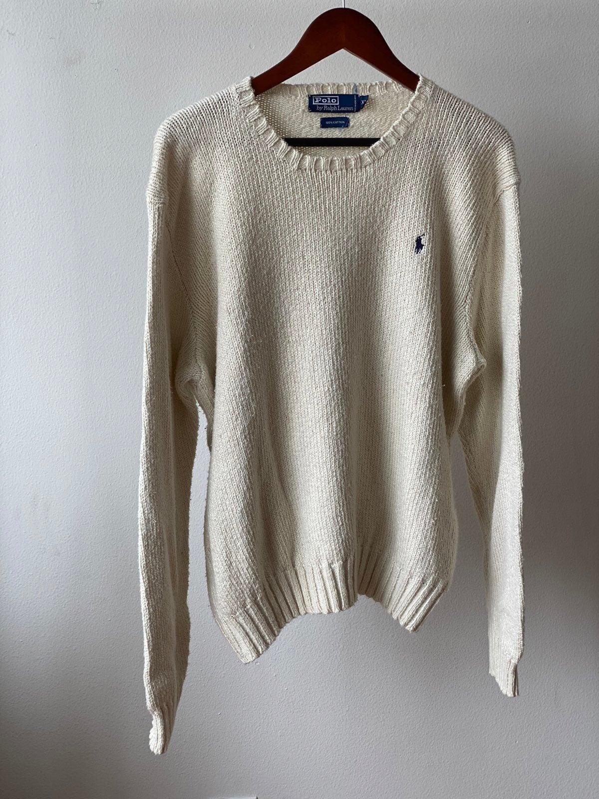 Polo Ralph Lauren Knit Sweater Sz XL