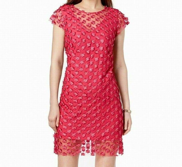 Nanette Lepore Size 6 Mesh Shift Dress