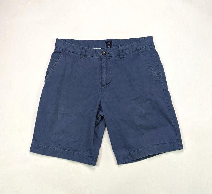 Gap Mens Classic Fit Size 34 Blue Shorts