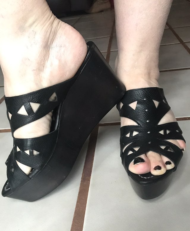 Costume National Wedges Size 41 Italy