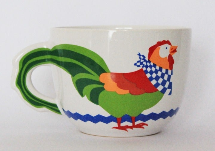 FTD Rooster Coffee Soup Mug, Oversized