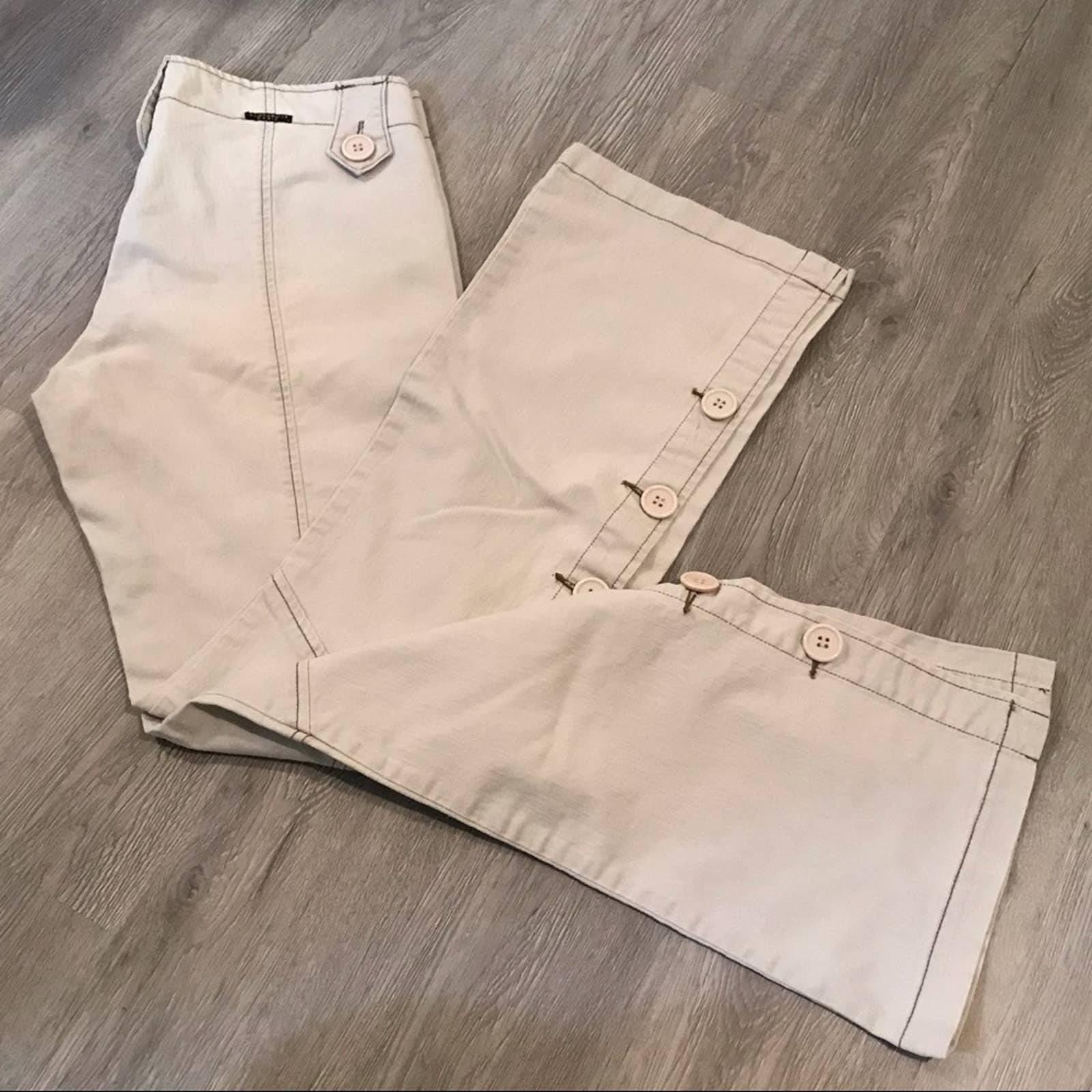 Z Cavaricci Off White Pants 11 Juniors