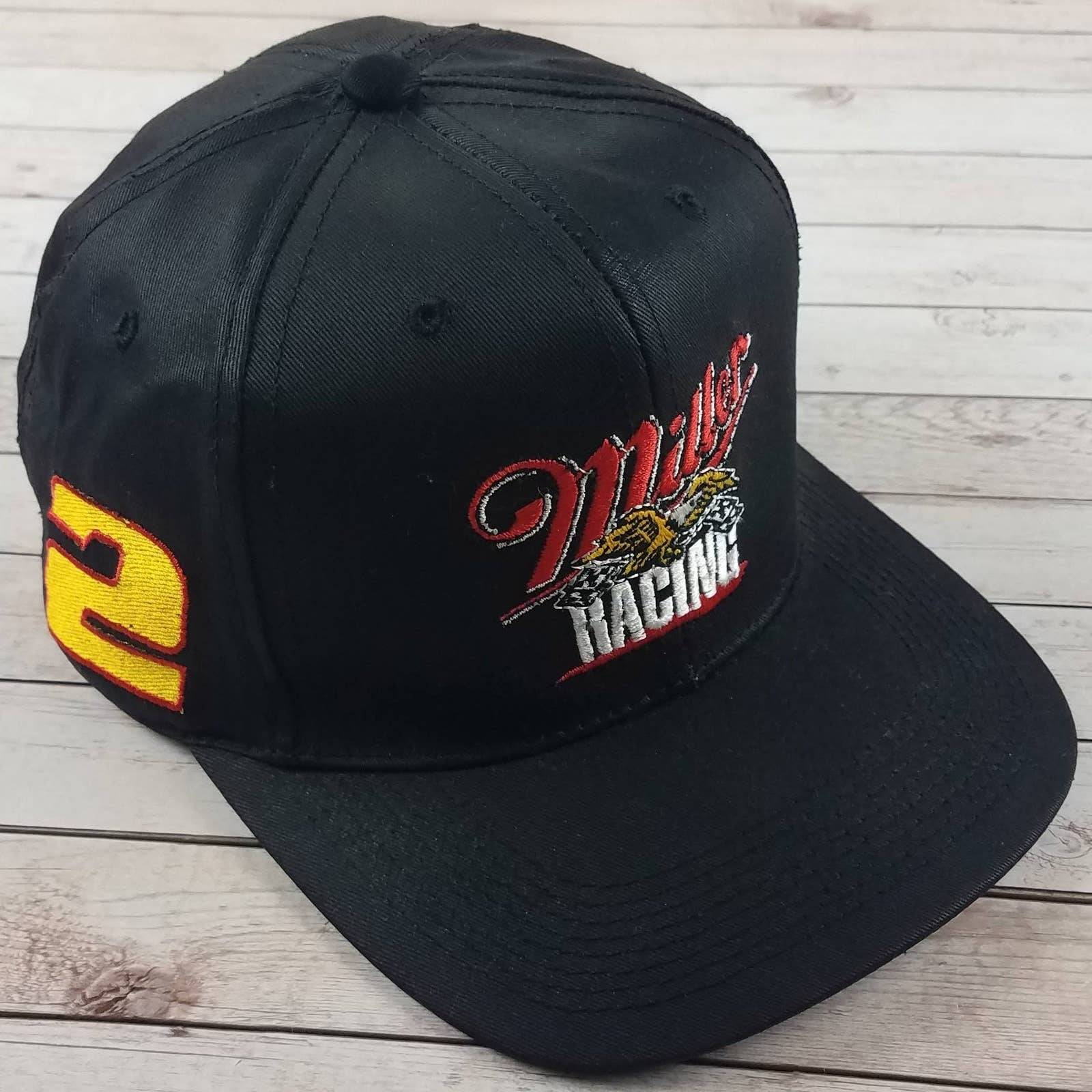 VTG 90s Rusty Wallace Racer Snapback Hat