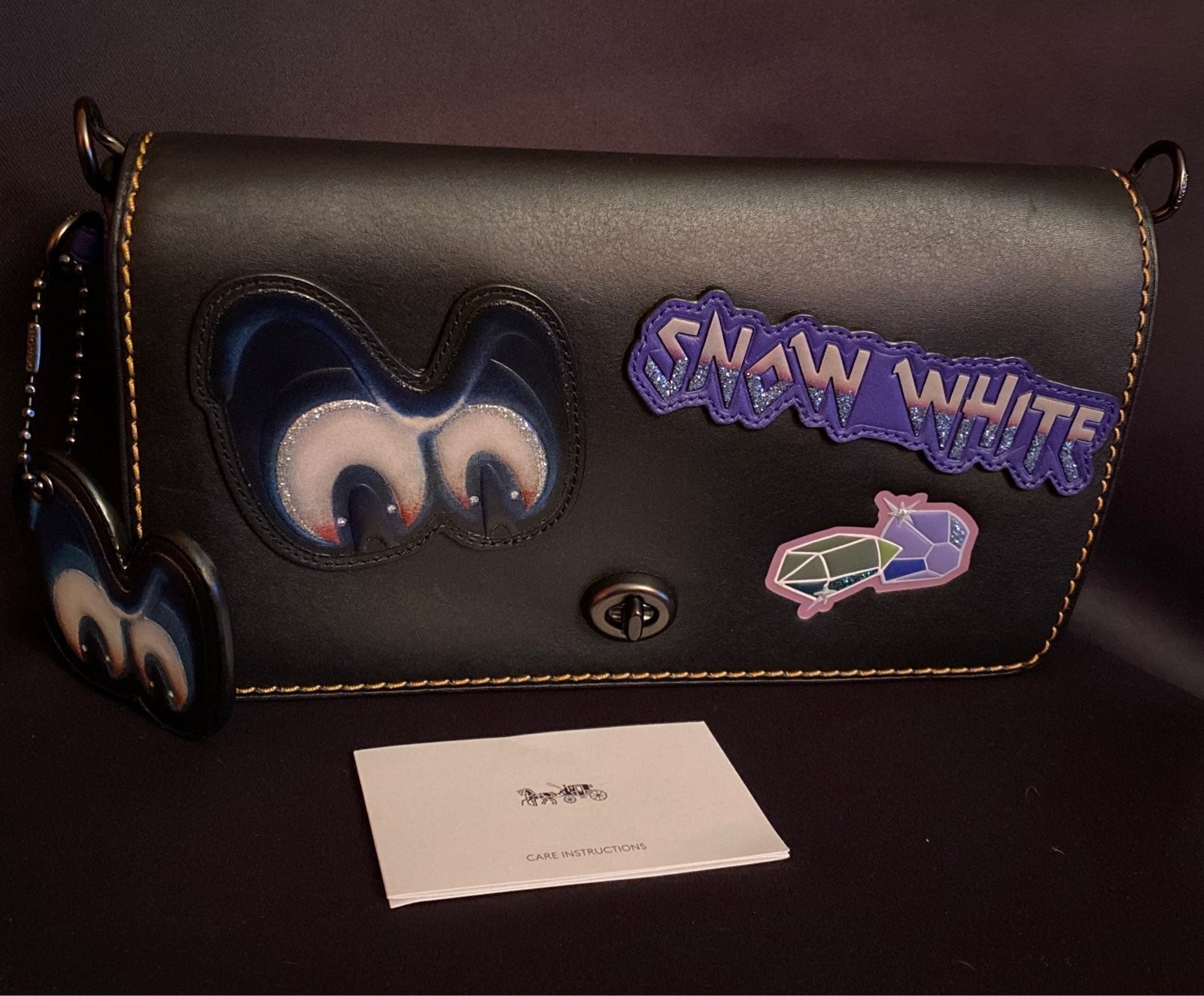 Coach Snow White CrossBody Bag