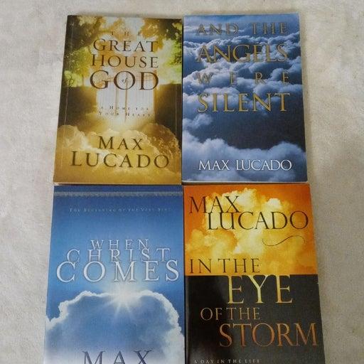 Max Lucado Lot 4 Books