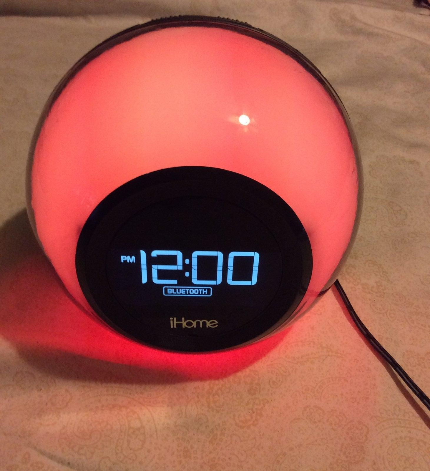 Ihome Alarm, bluetooth,radio