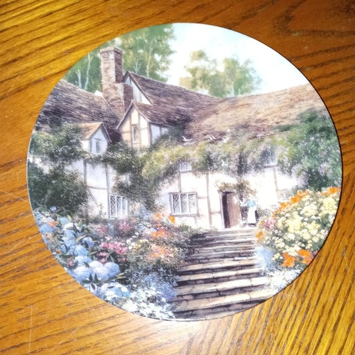 Porcelain Plate Summer's Bright Welcome