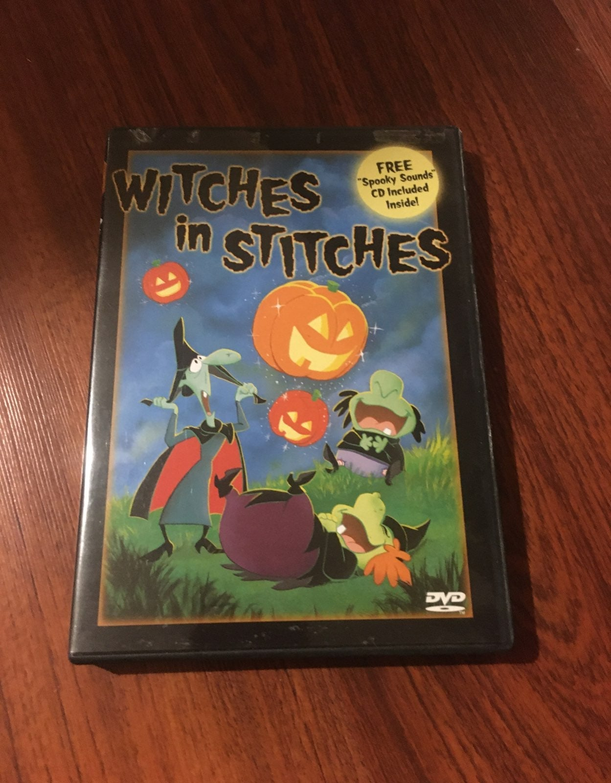 Witches in stiches dvd