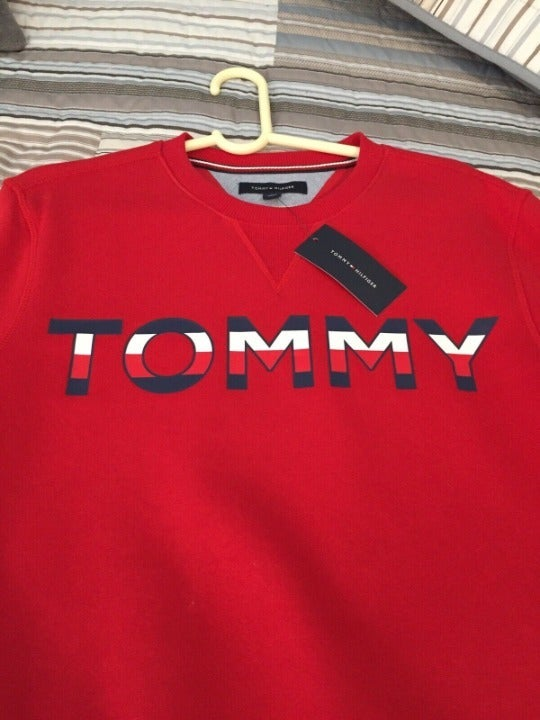 Tommy Hilfiger LOGO SweatShirt Red