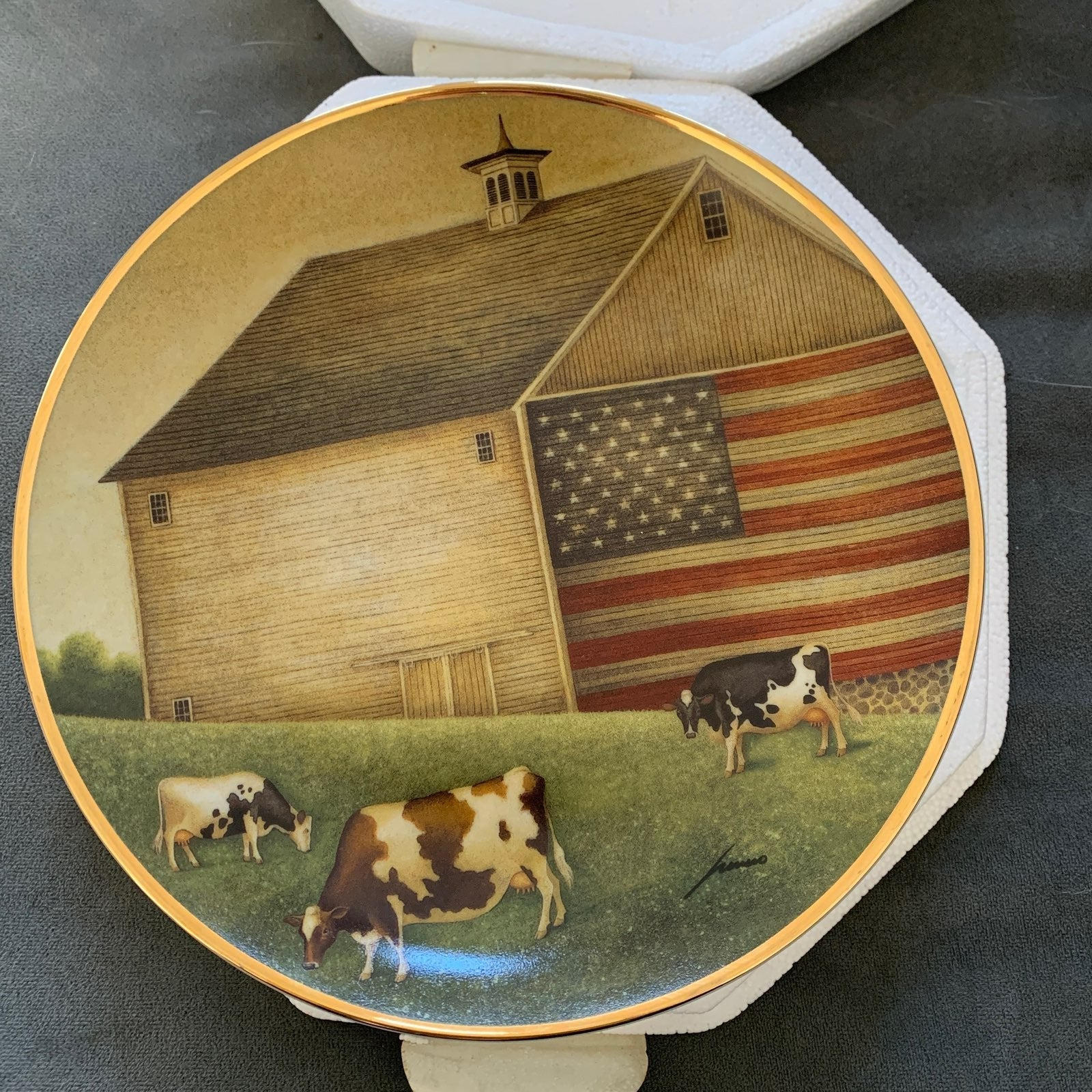 Collectible Plate -Franklin Mint