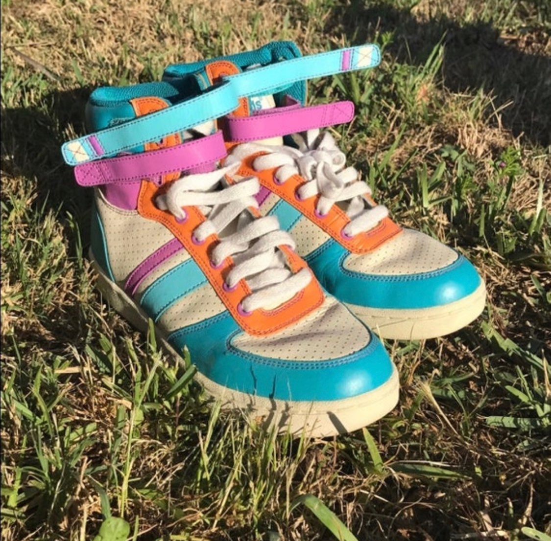 Vintage Rare Pro Ked's High Tops