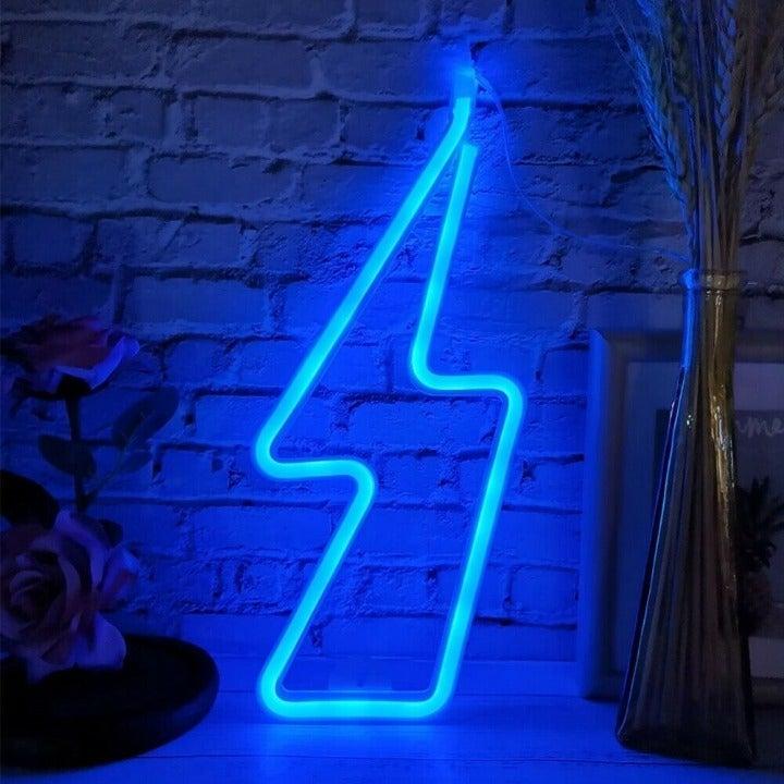 LED Blue Neon Studio Sign USB Powered