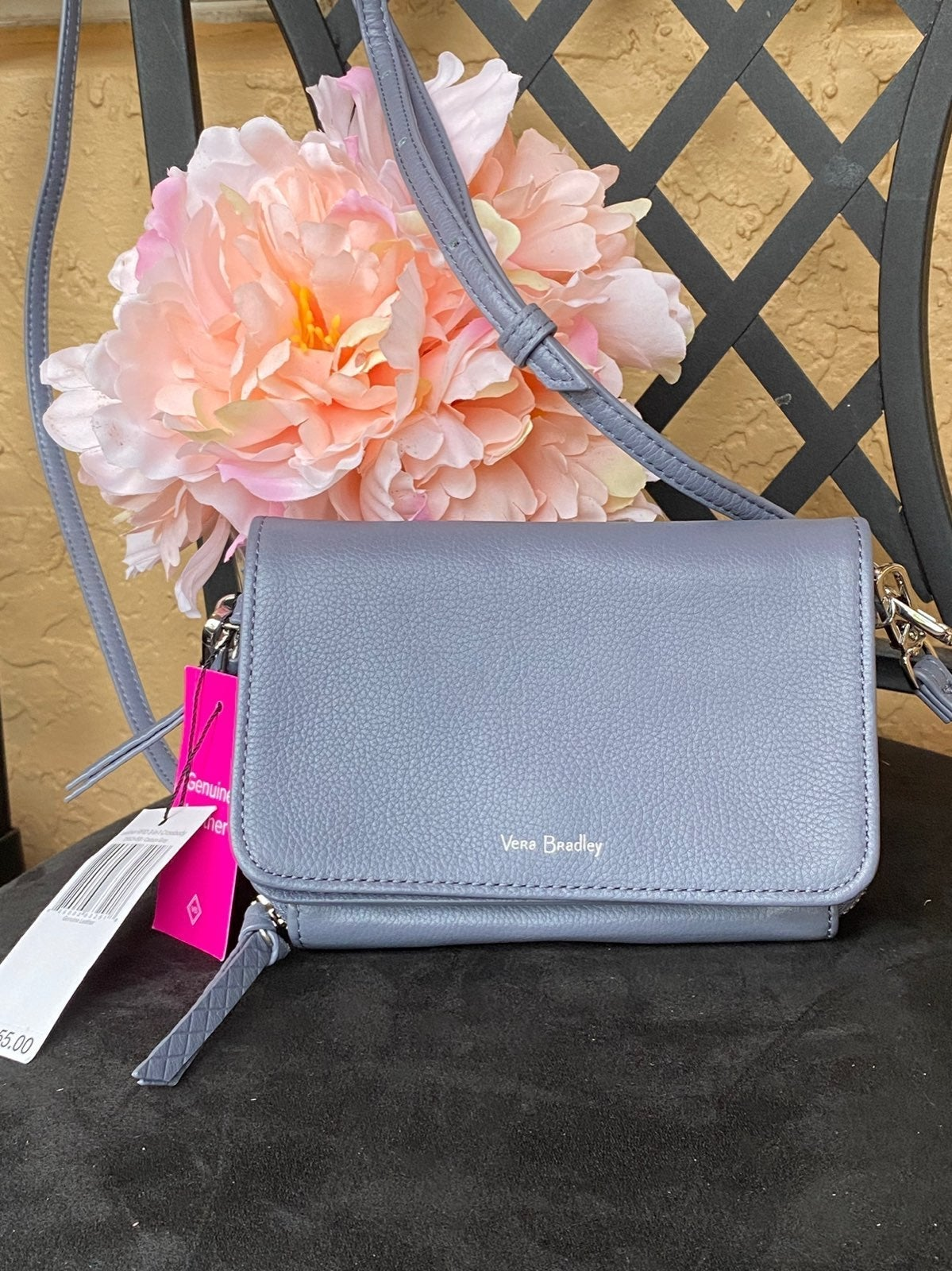 Vera Bradley RFID Leather Crossbag 3in1