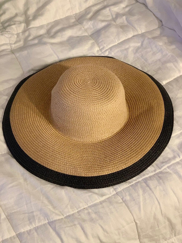 Braided Wide-Brim Sun Hat for Women