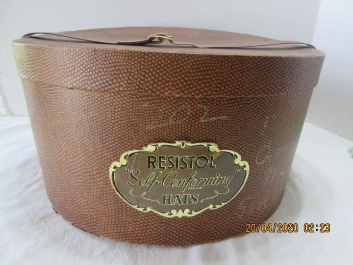 Resistol Hat Box Men's Snakeskin Print