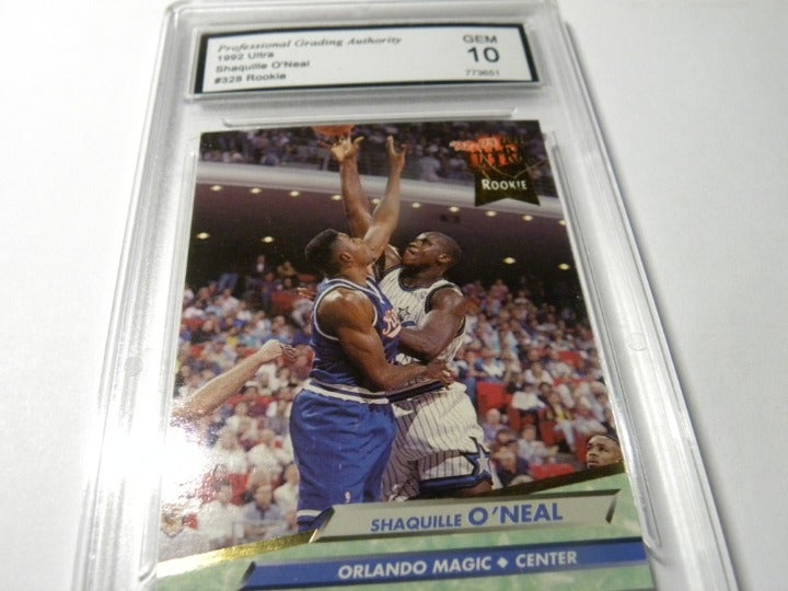 SHAQUILLE O'NEAL ROOKIE CARD (AUTHENTIC)