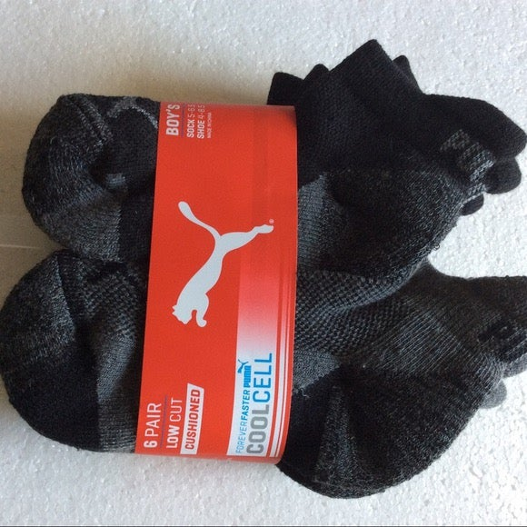 Puma Ankle Socks Child5-6.6 (4-8.5shoes)