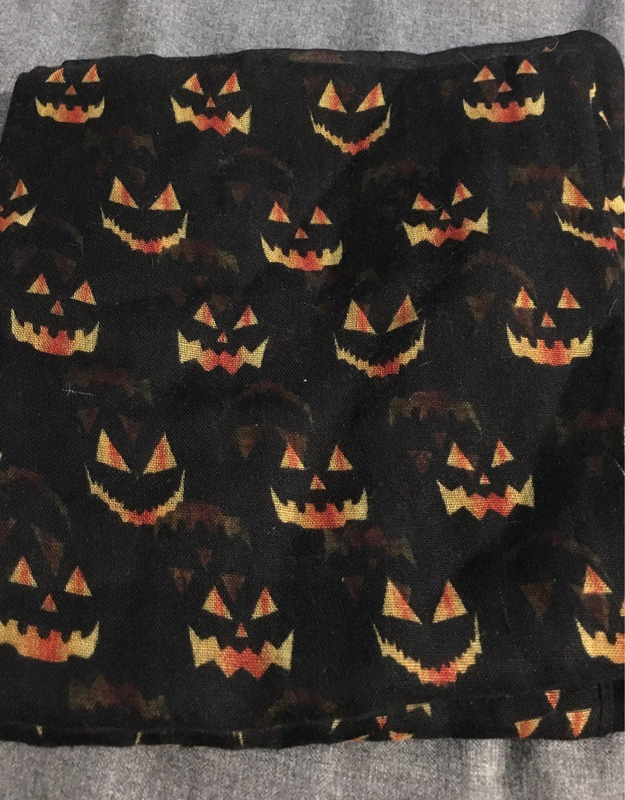 Halloween Print Infinity Scarf (Jack-O-L