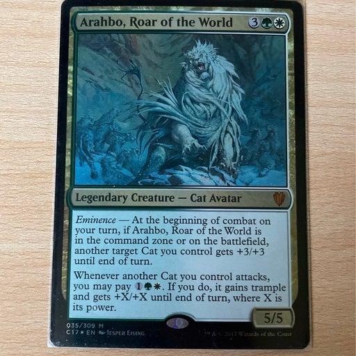 MTG Arahbo, Roar of the World FOIL