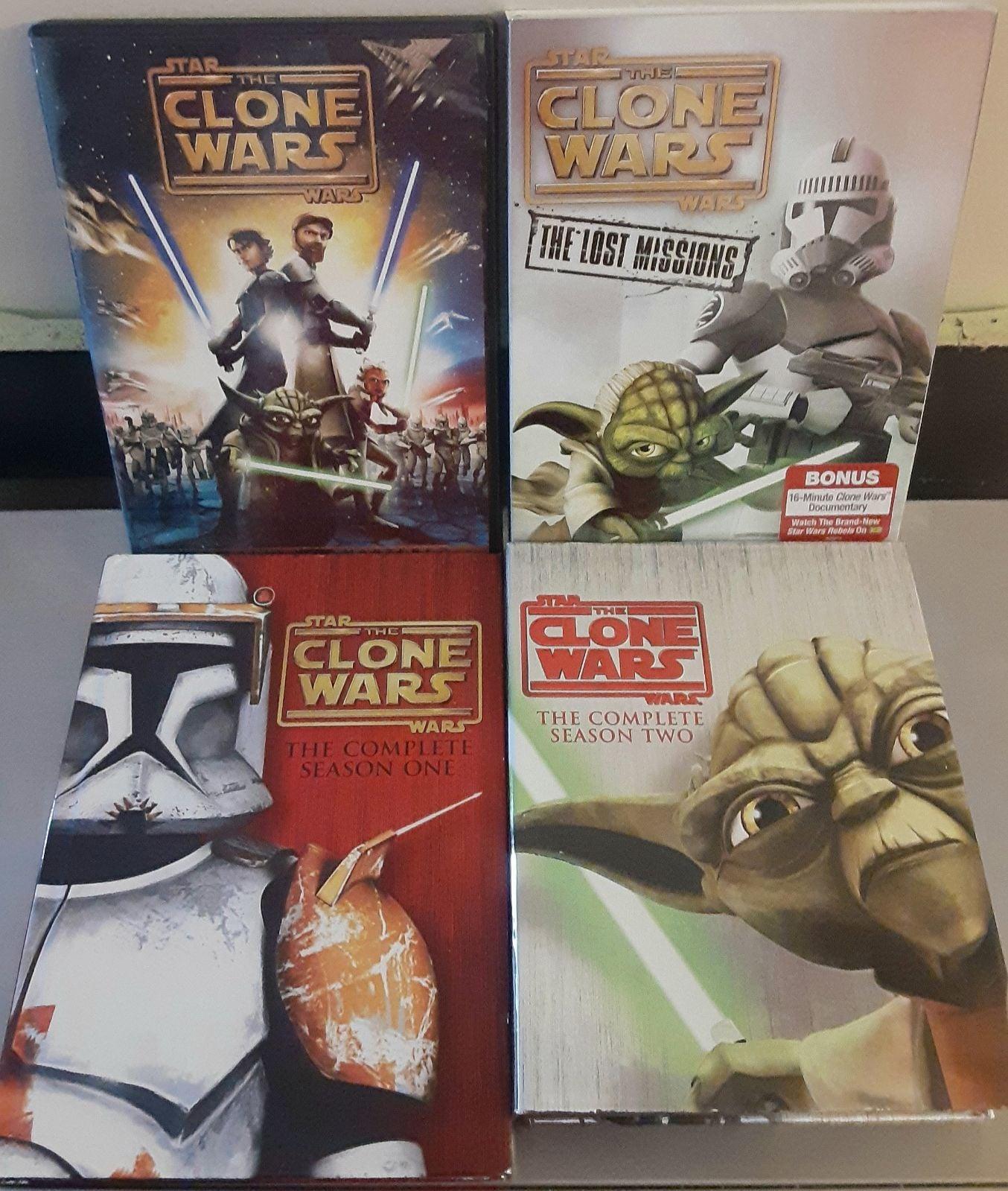 Star Wars The Clone Wars Seasons PLUS