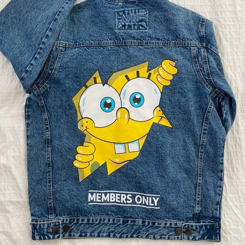 Members Only SpongeBob Jacket Medium