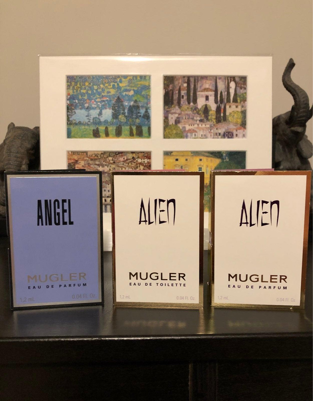 Theirry Mugler perfume samples