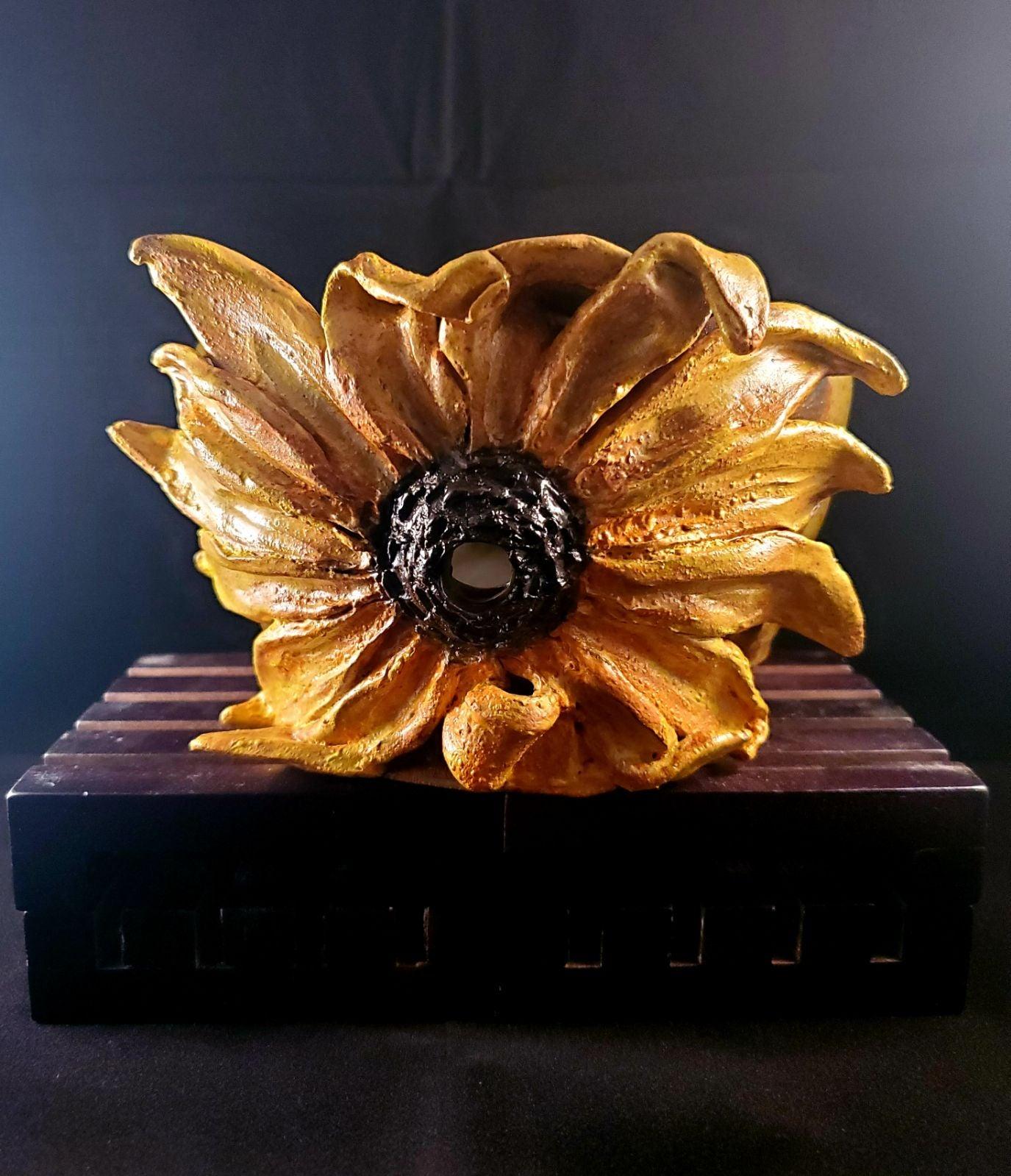 Sunflower Yarn bowl