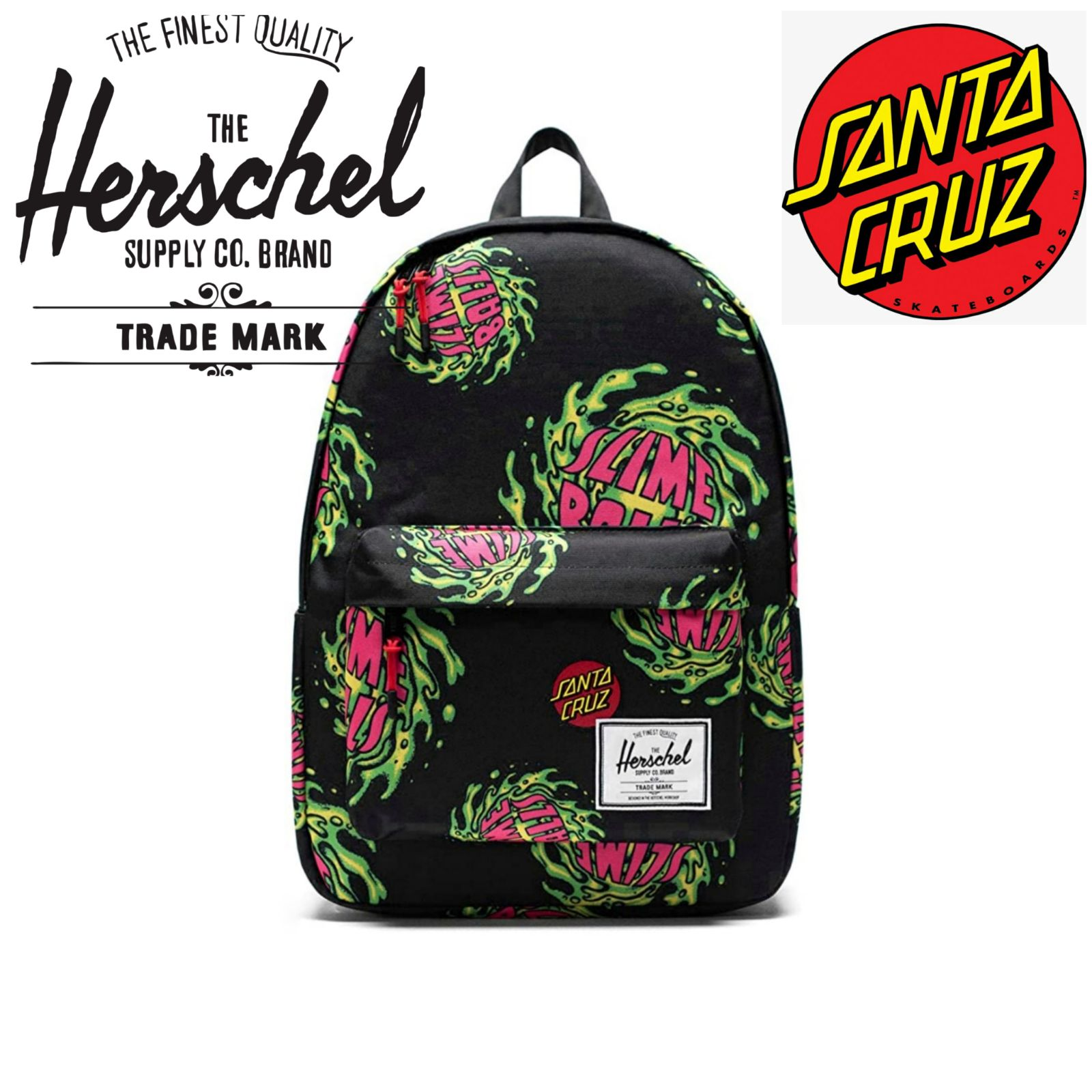 Herschel X Santa Cruz SLIMEBALL Backpack