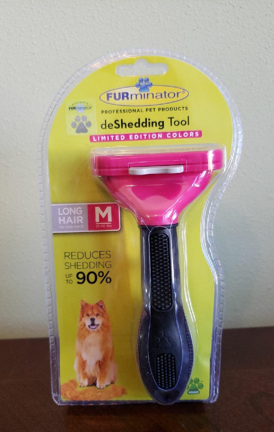 Deshedding Brush for medium dog