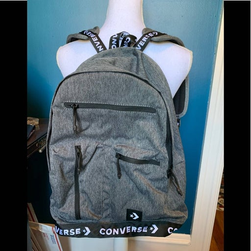 Converse heather grey computer backpack