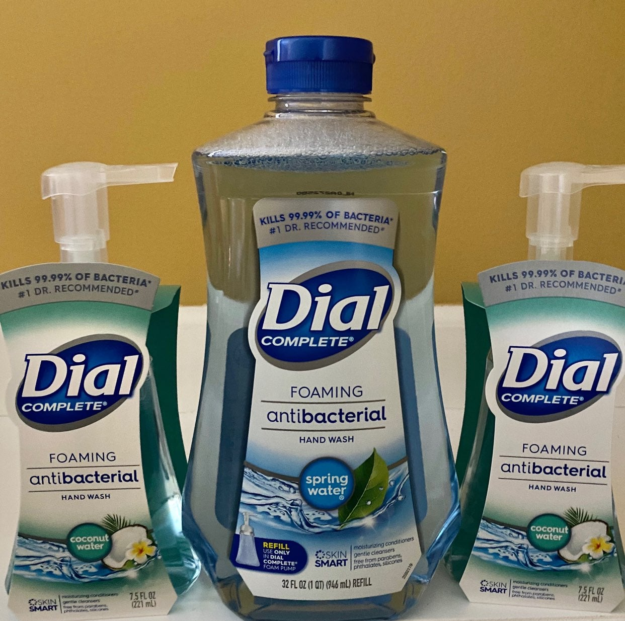 Dial Foam Soap & Refill