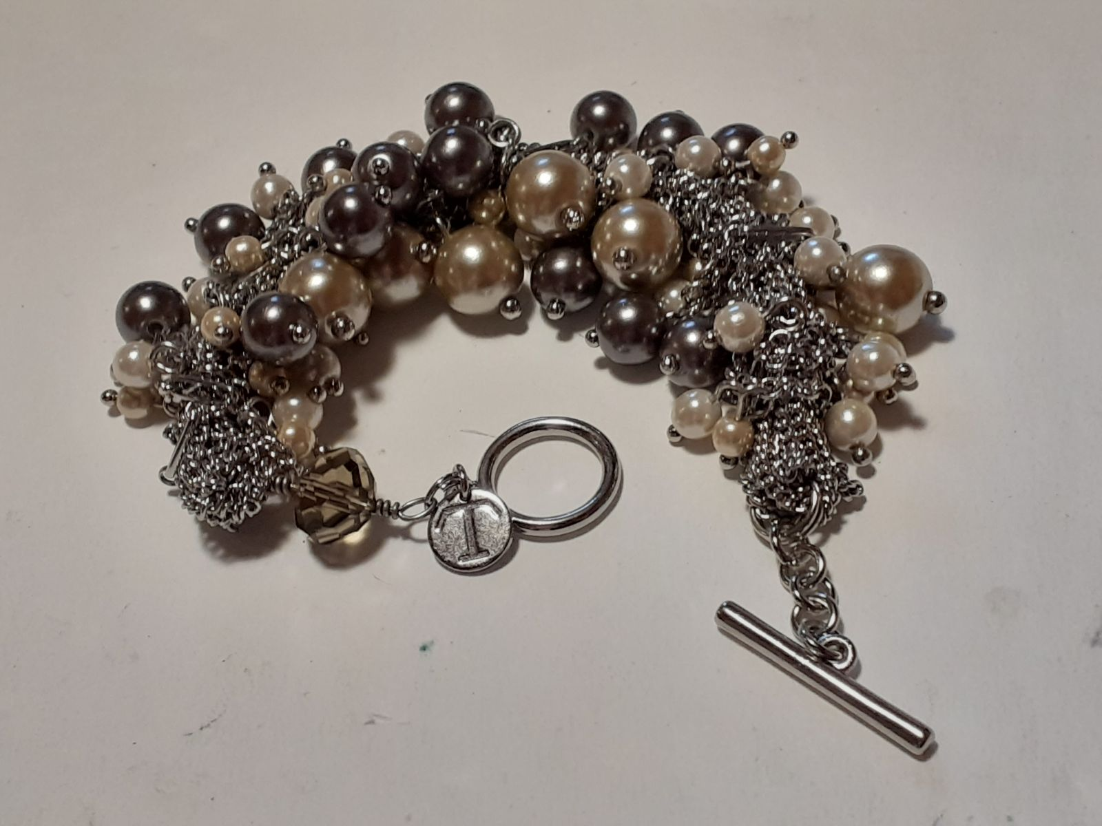 Talbots Pearl Bracelet