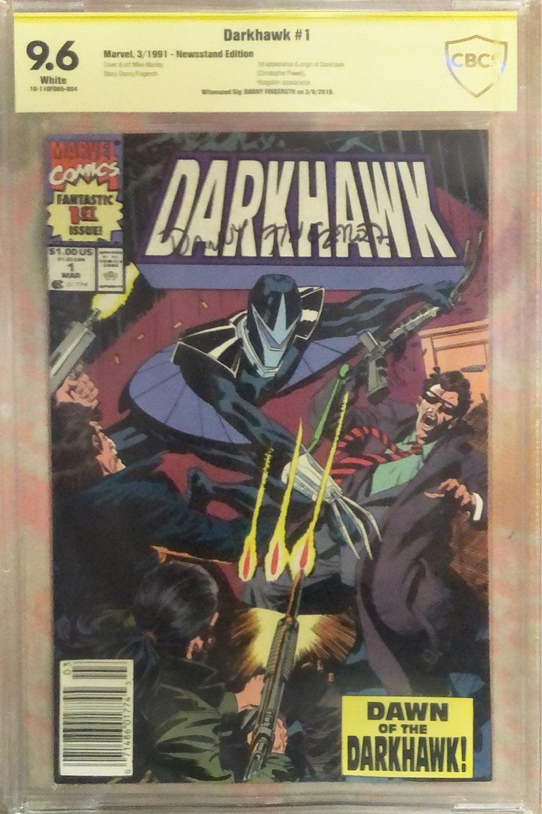 Darkhawk 1 cbcs 9.6 ss newsstand
