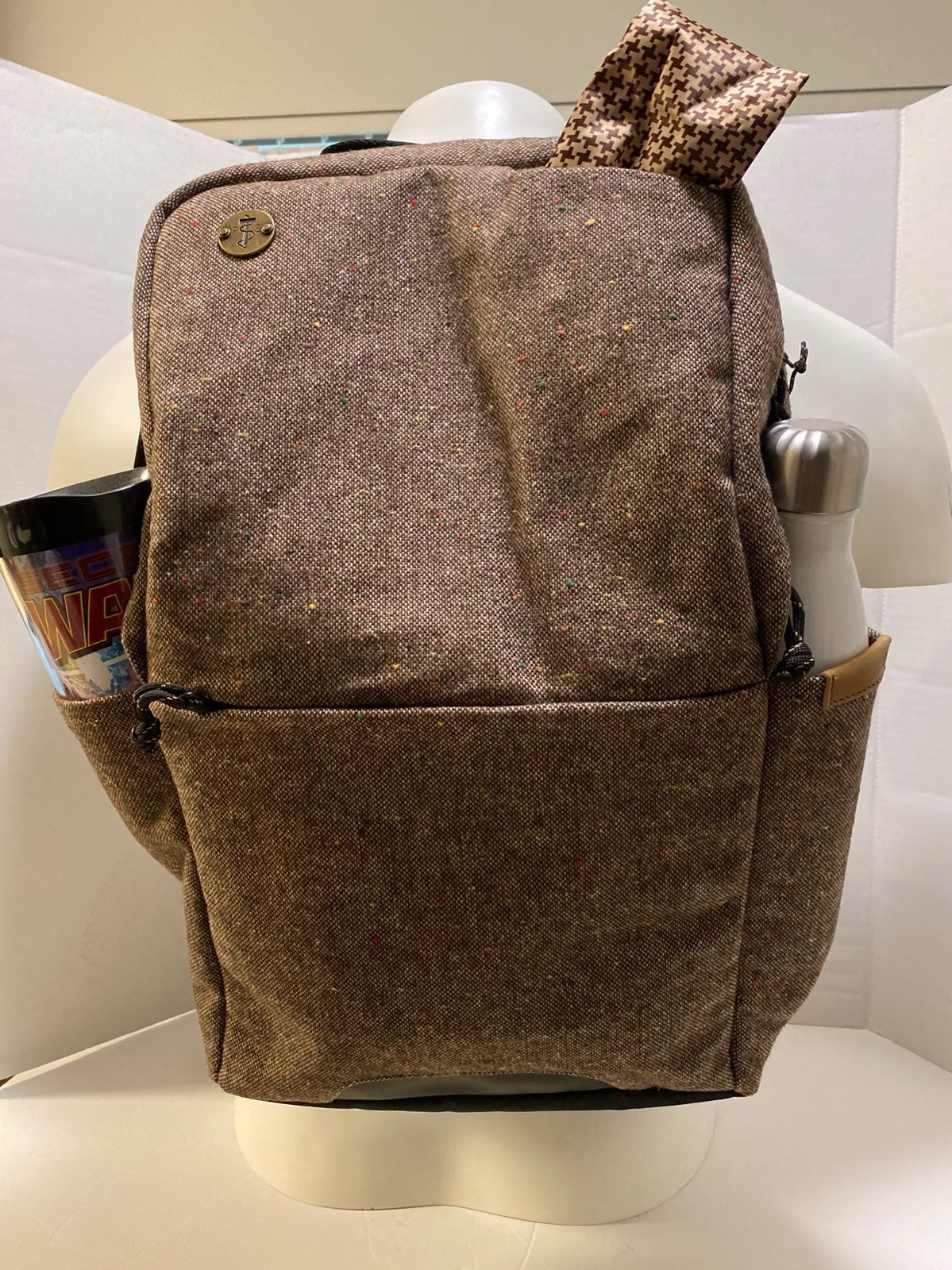 Focused Space Backpack Built In Tablet/c