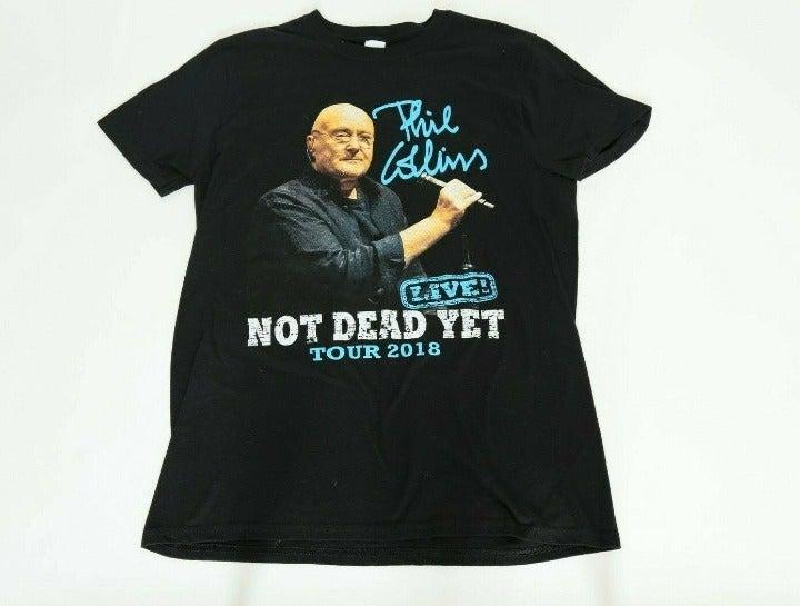 Phil Collins Not Dead Yet Live Tour Shir