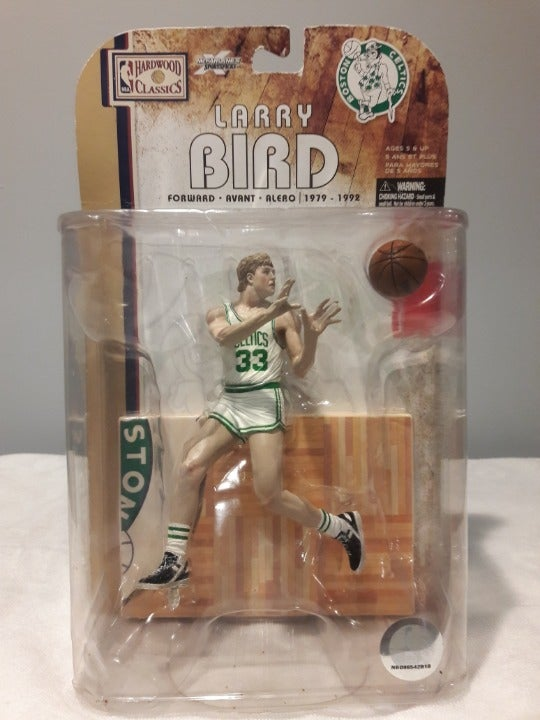 McFarlane Larry Bird Celtics Figure!