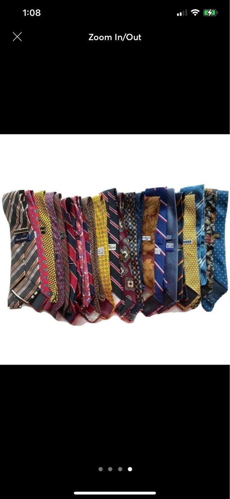 LOT of Men's Ties (110+)