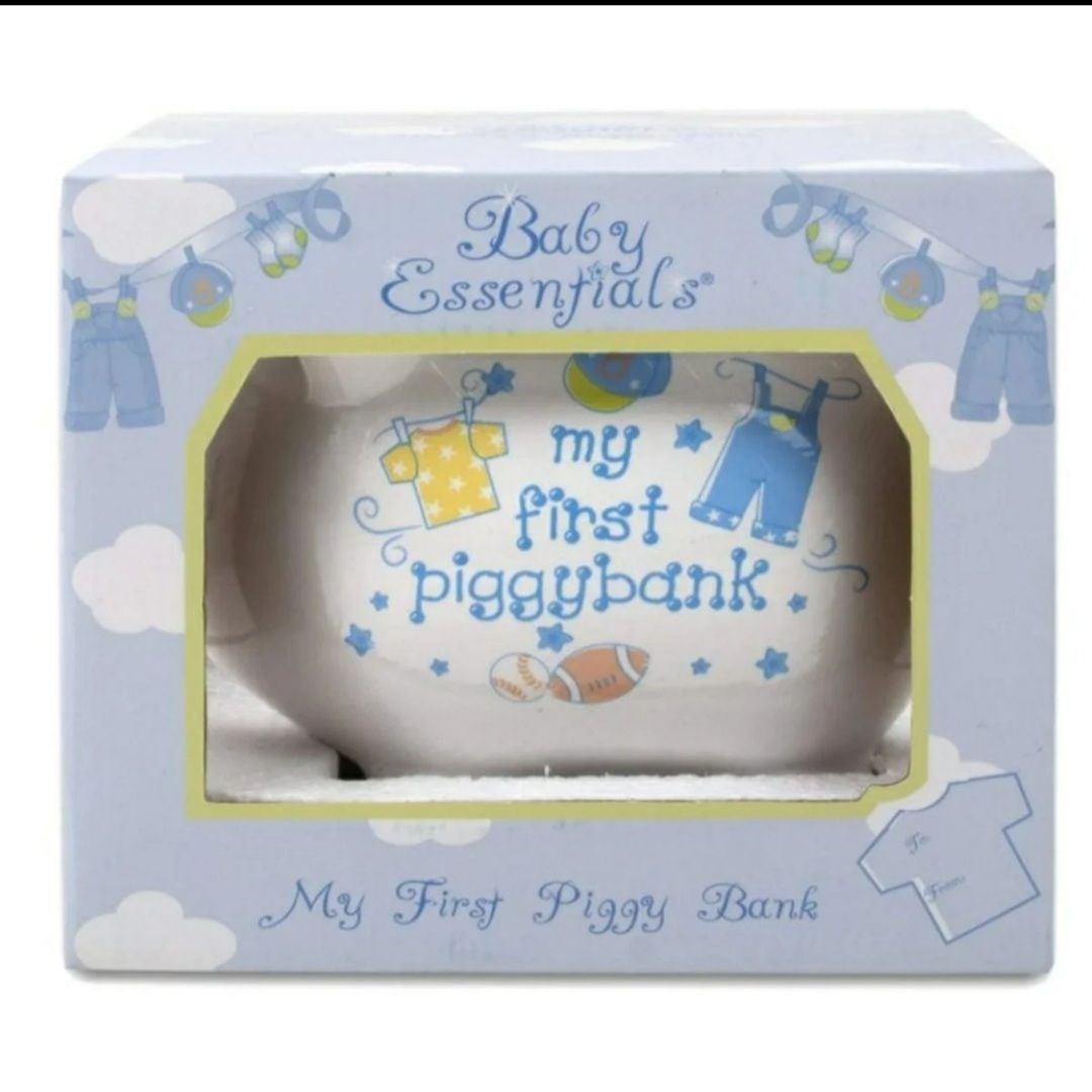 Baby Essentials My First Piggy Bank Boys