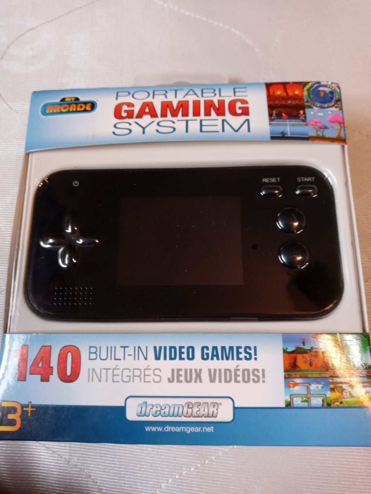 Dreamgear portable gaming system new in