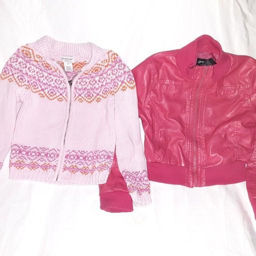 Girls jacket & Sweater Size 6