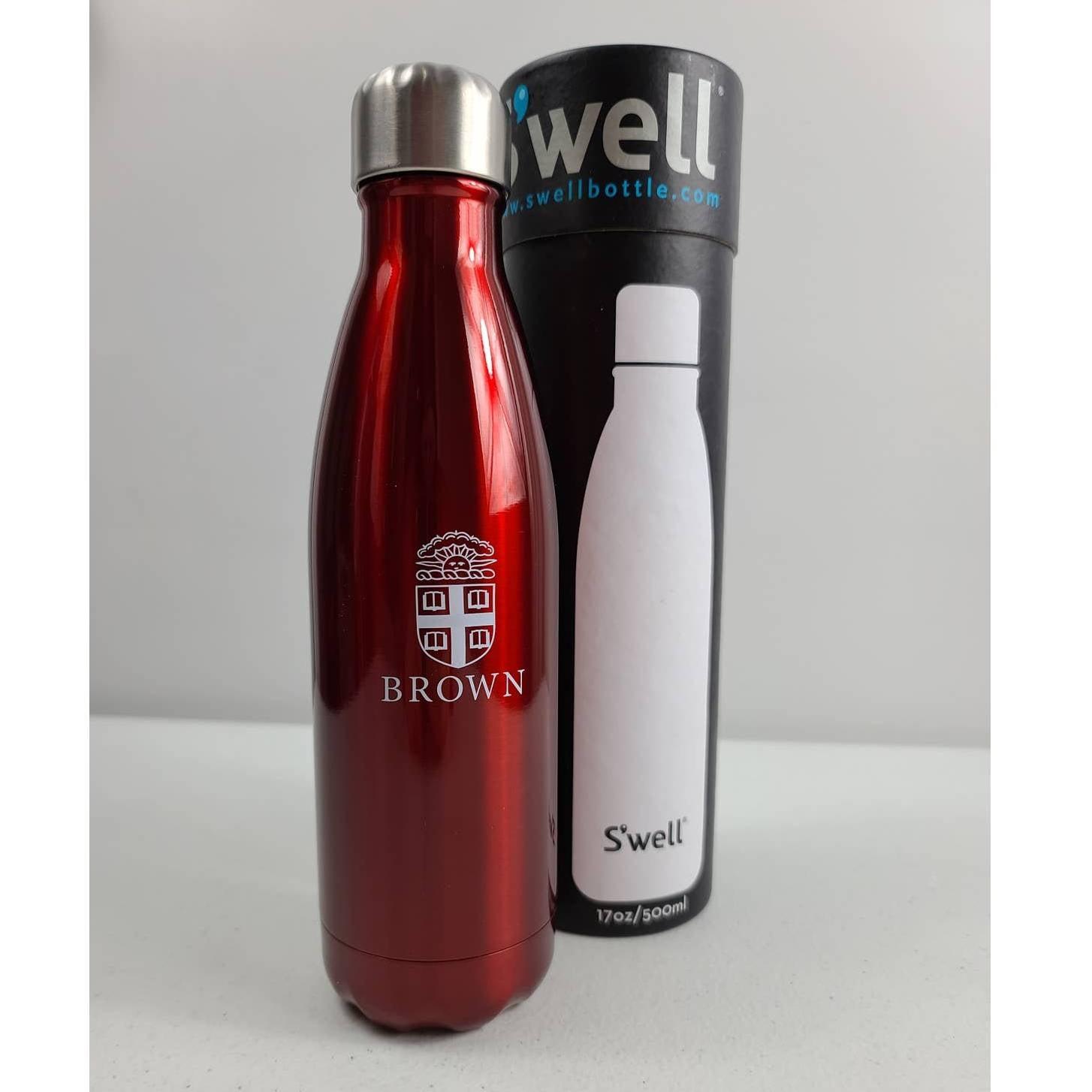 Swell 17oz Water Bottle Brown University