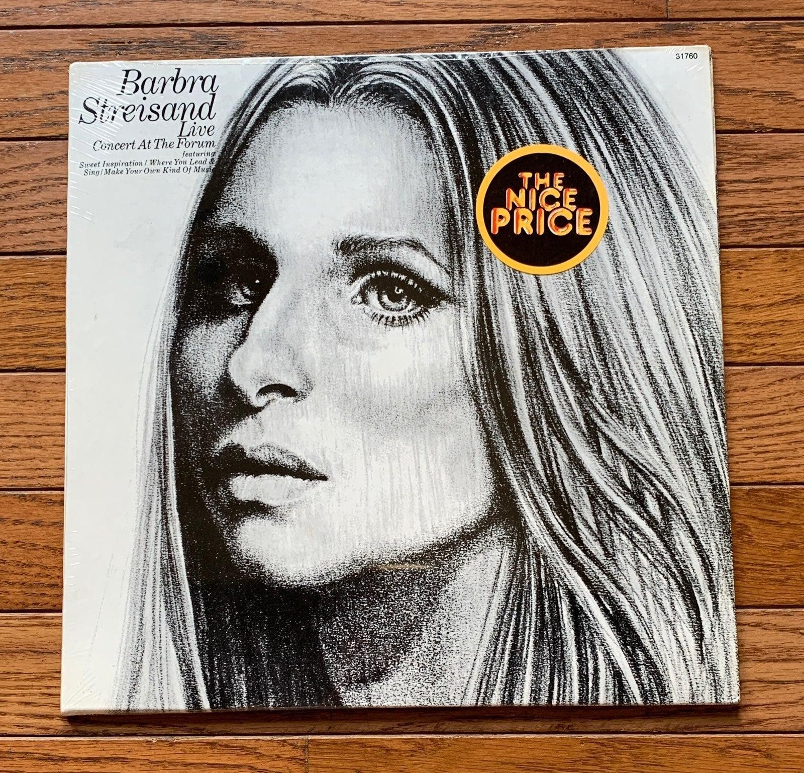 Sealed Barbra Streisand Vinyl Record LP