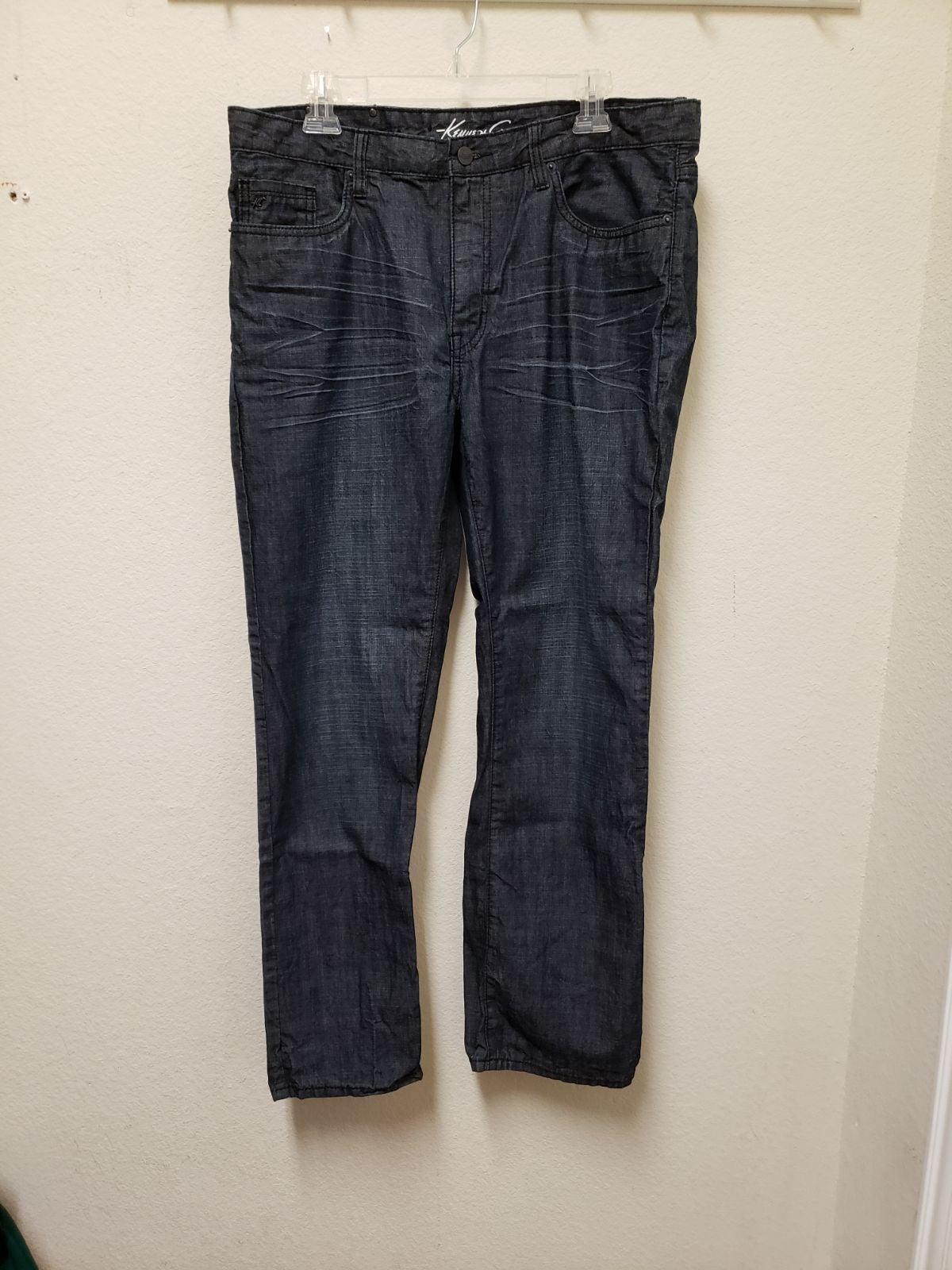Kenneth Cole New York Mens Denim Jean