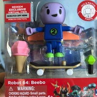 Beebo Robot 64 Roblox Action Figure 4 Action Figures Roblox Robot Action Figures Mercari