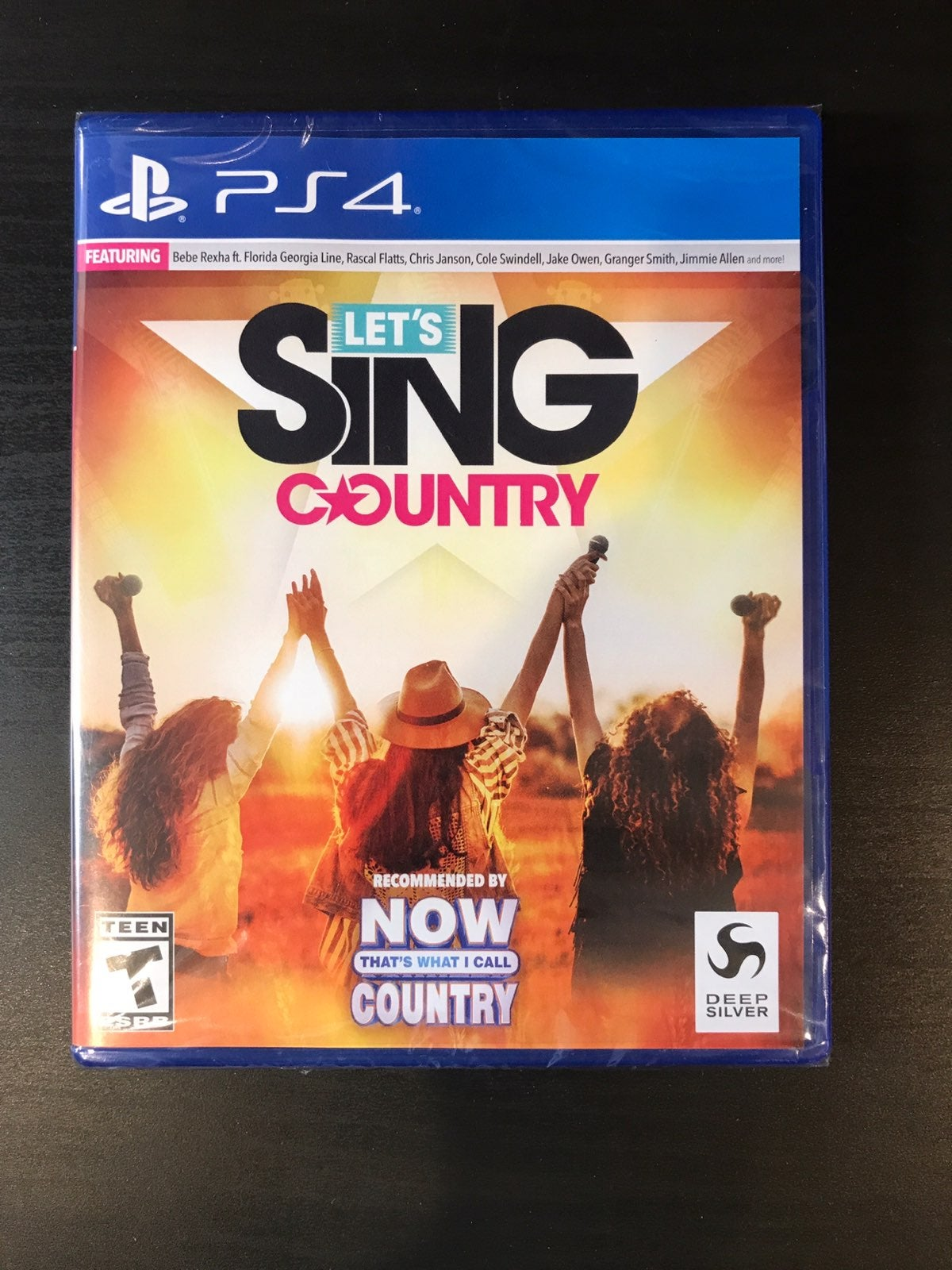 Let's Sing Country PS4 Sealed