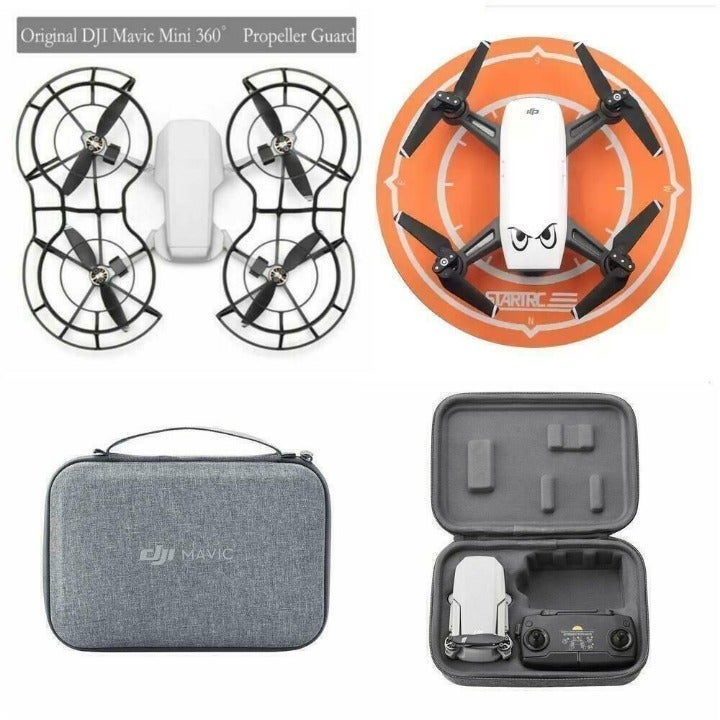 Mavic Mini Prop guards case landing pad