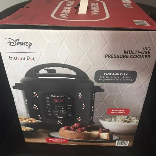instant pot duo 6 quart mickey mouse