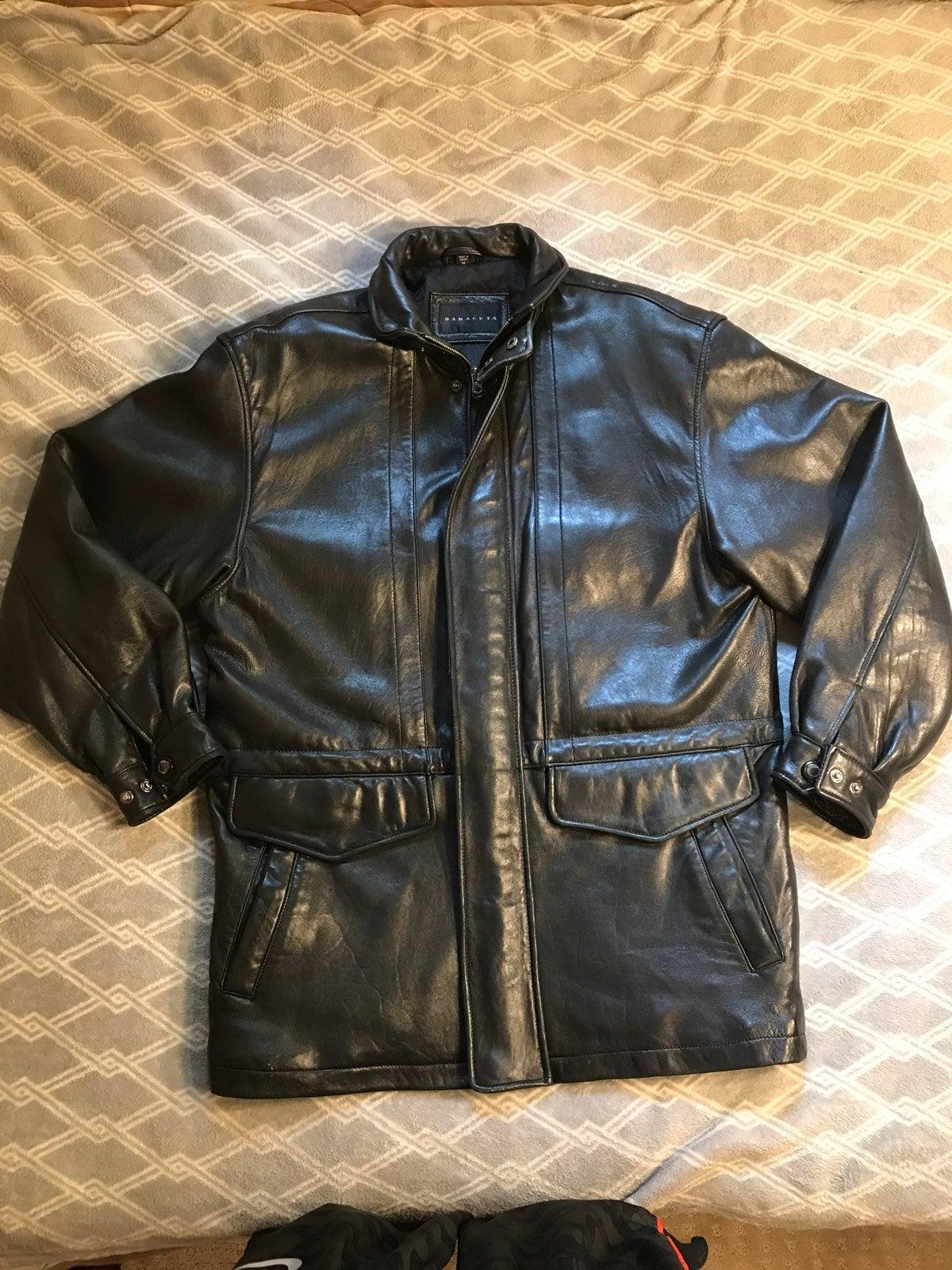 Baracuta Leather Jacket Men's Medium