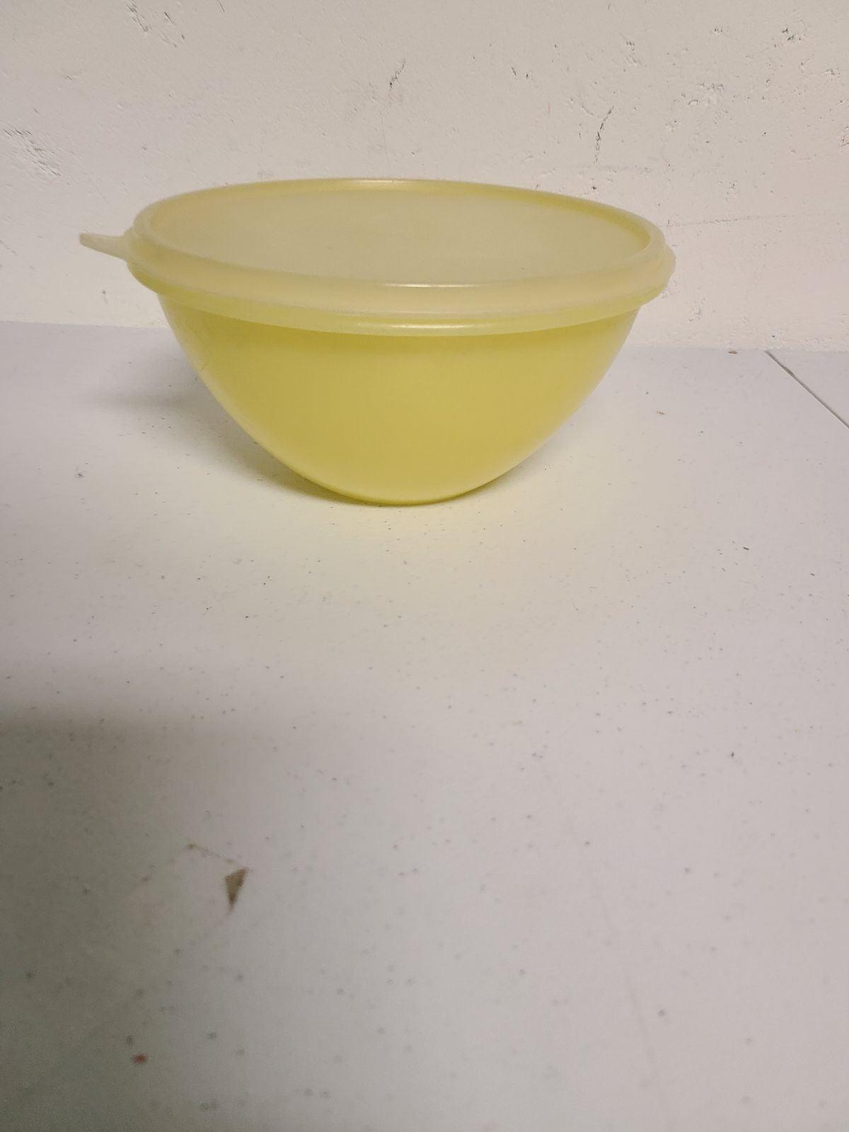 Vtg Tupperware Bowl Container
