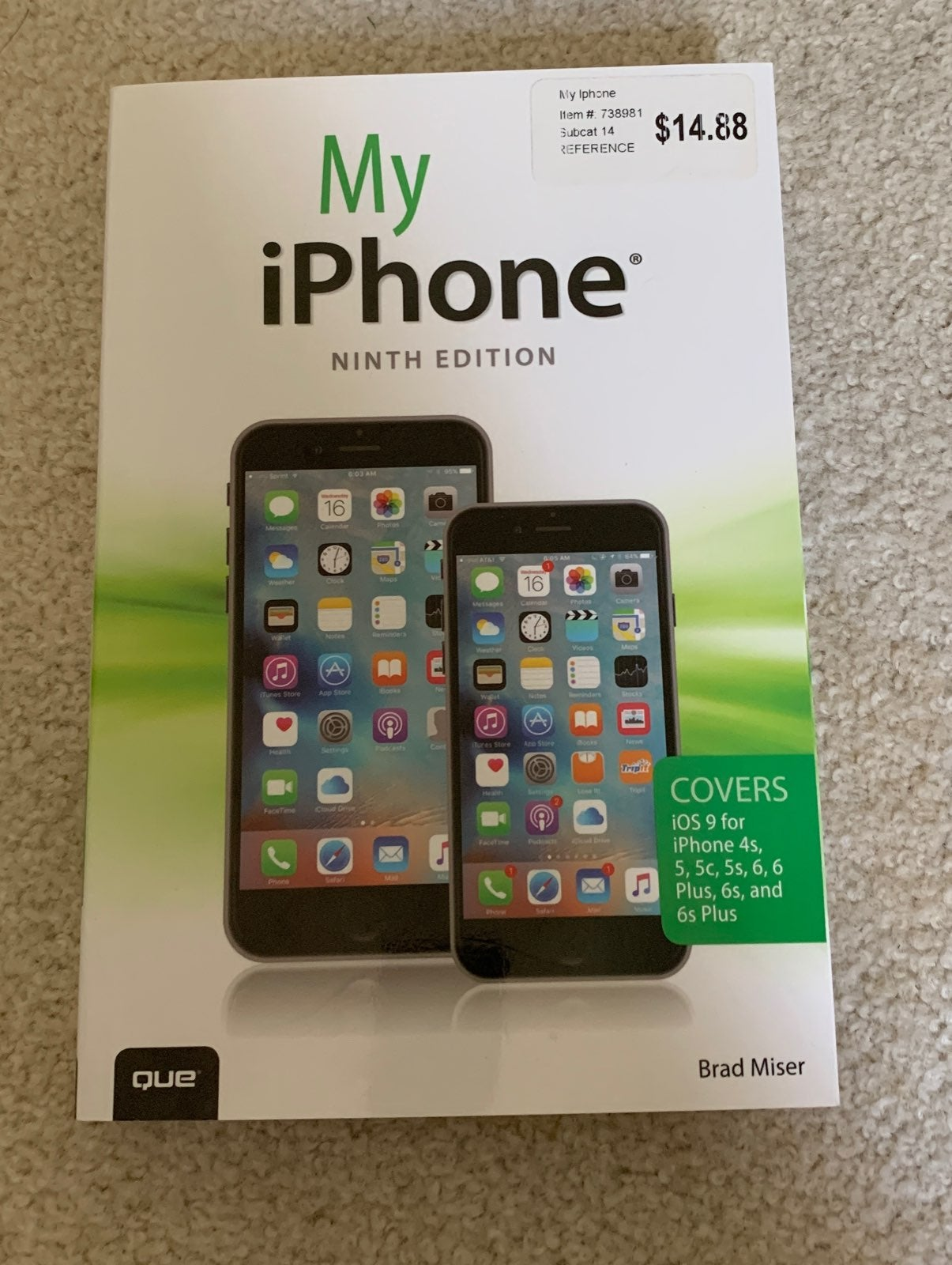 My iphone book ninth edition